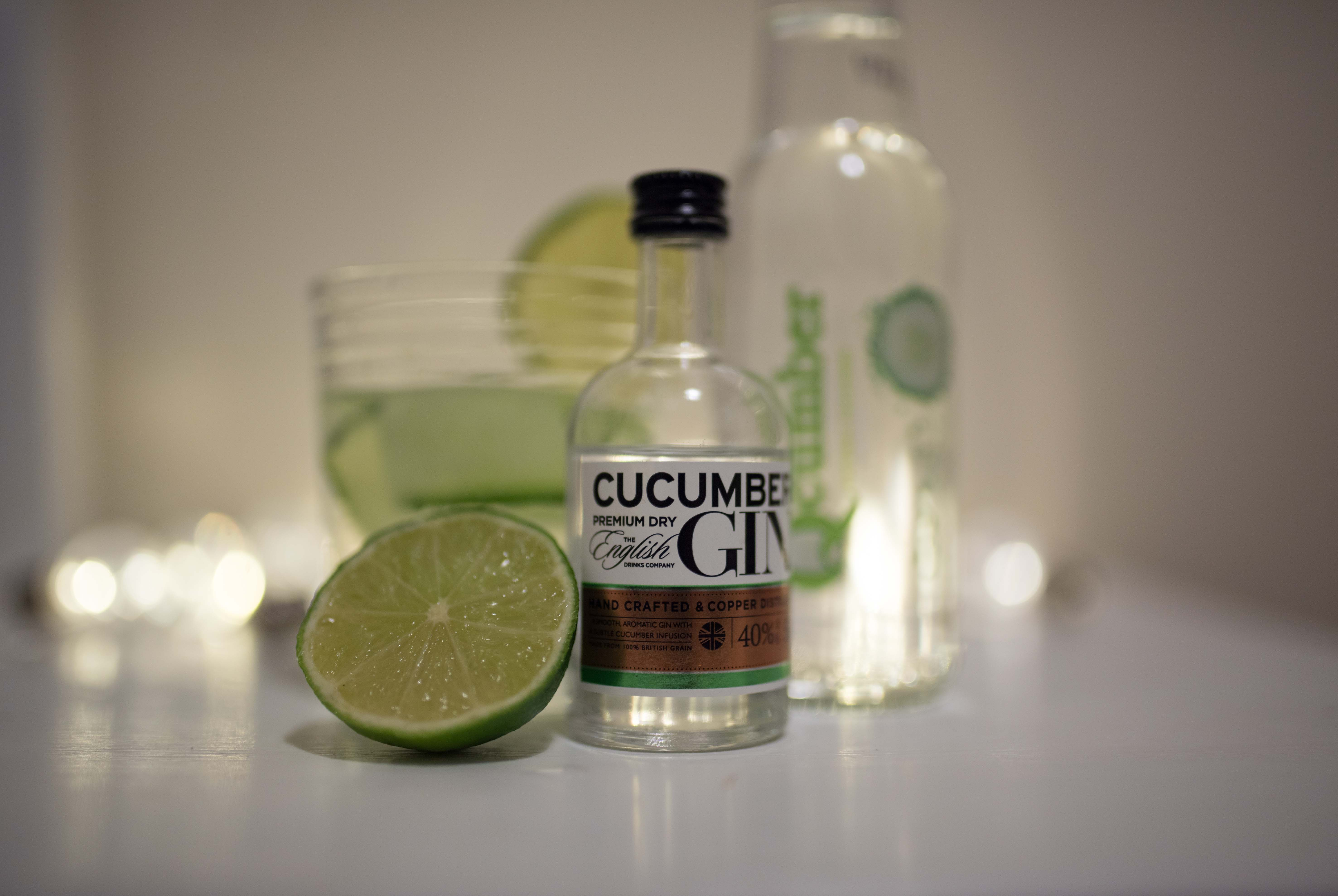cucumber gin mocktail cocktail