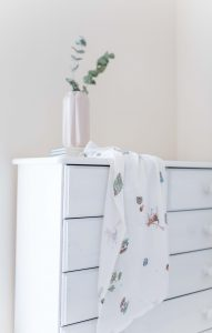 Little art collection patterned muslin
