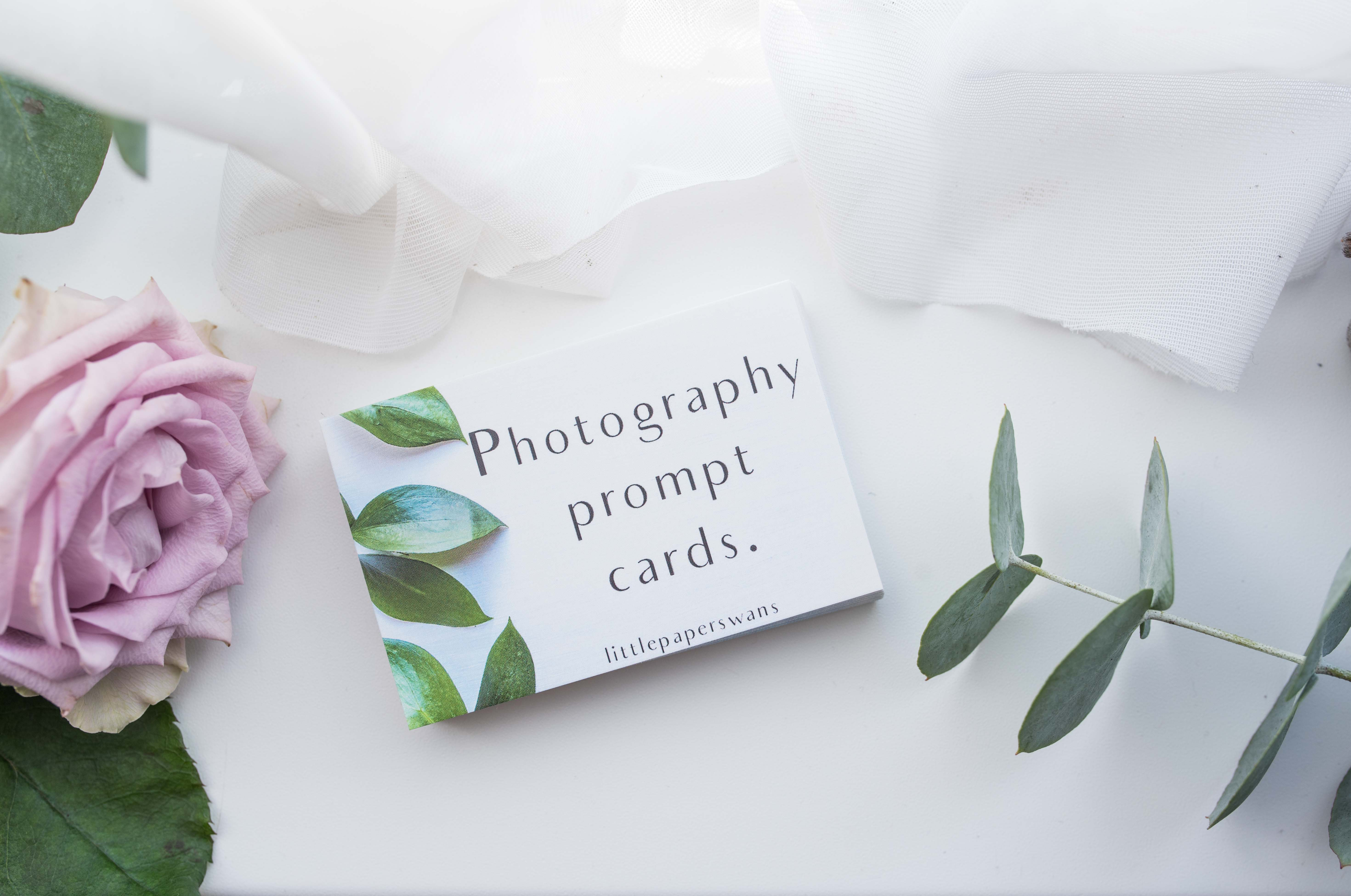 Photography Prompt Cards