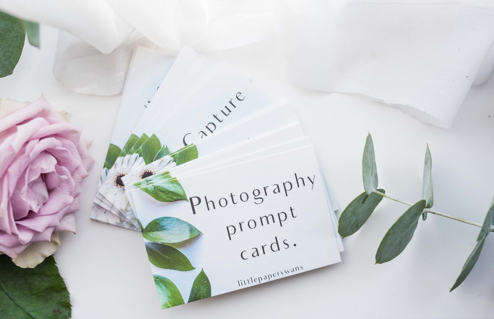 Pre-Order Photography Prompt Cards
